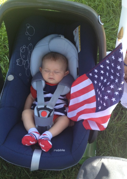 Sarah's First July 4th